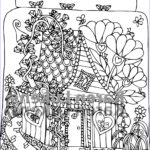 House Coloring Book Best Of Photos Fairy House 3 1 Adult Coloring Book Page Printable Instant