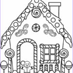 House Coloring Book Cool Photos Printable Gingerbread House Coloring Pages For Kids