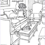 House Coloring Book Elegant Photos Coloring Pages For Adults… Some Drawings Of Living Rooms