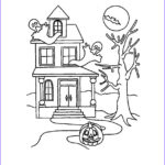 House Coloring Book Elegant Photos Free Printable Haunted House Coloring Pages For Kids