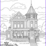 House Coloring Book Inspirational Gallery 744 Best Images About Adult Colouring Buildings Houses