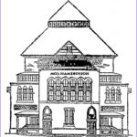 House Coloring Book Inspirational Images Free Printable House Coloring Pages For Kids
