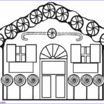 House Coloring Book Inspirational Photography Printable Gingerbread House Coloring Pages for Kids