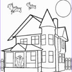 House Coloring Book Luxury Stock Printable Haunted House Coloring Pages For Kids