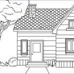 Houses Coloring Book Inspirational Photos Free Printable House Coloring Pages for Kids