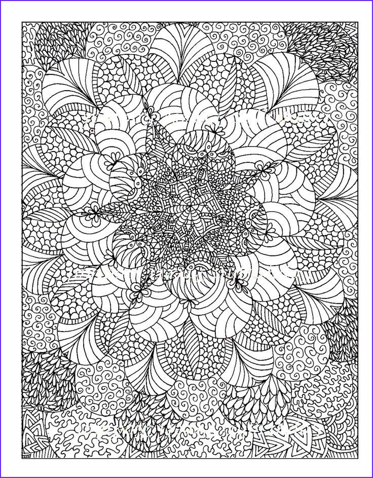 How to Color Adult Coloring Books Best Of Image Free Coloring Page Coloring Adult Rosaces Abstract