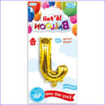 """How To Get Food Coloring Off Your Hands Cool Image 16"""" Foil Balloon Letter """"j"""" 1 Ct – Marketcol"""