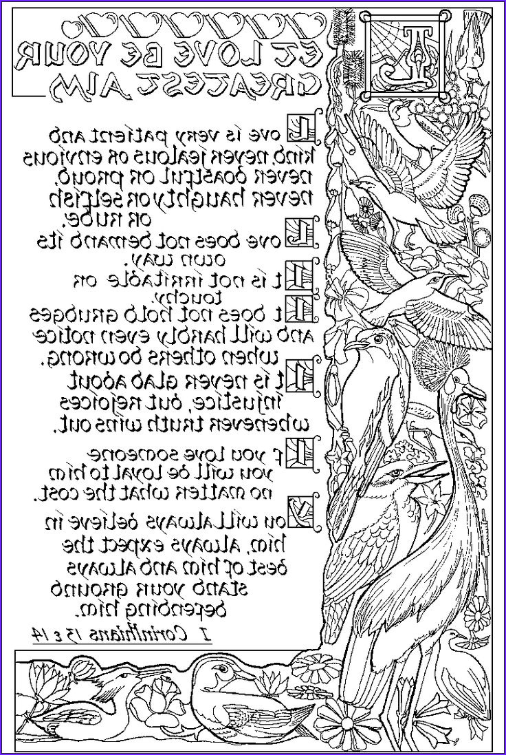 I Coloring Pages Beautiful Photography 1 Corinthians 13&14 Abda Acts Coloring Page