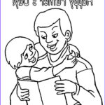 I Love My Daddy Coloring Pages Awesome Stock Read A Book For His Kid I Love Dad Coloring Pages