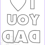 I Love My Daddy Coloring Pages Beautiful Photos Father's Day – I Love You Dad – Coloring Page