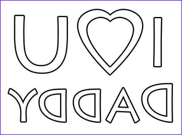 I Love My Daddy Coloring Pages Cool Image I Love You Daddy Coloring Page