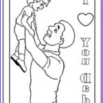 I Love My Daddy Coloring Pages Cool Images I Love You Dad Coloring Pages For Kids
