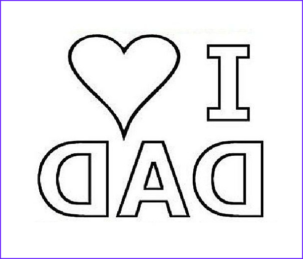 I Love My Daddy Coloring Pages Inspirational Gallery I Love You Dad Coloring Pages