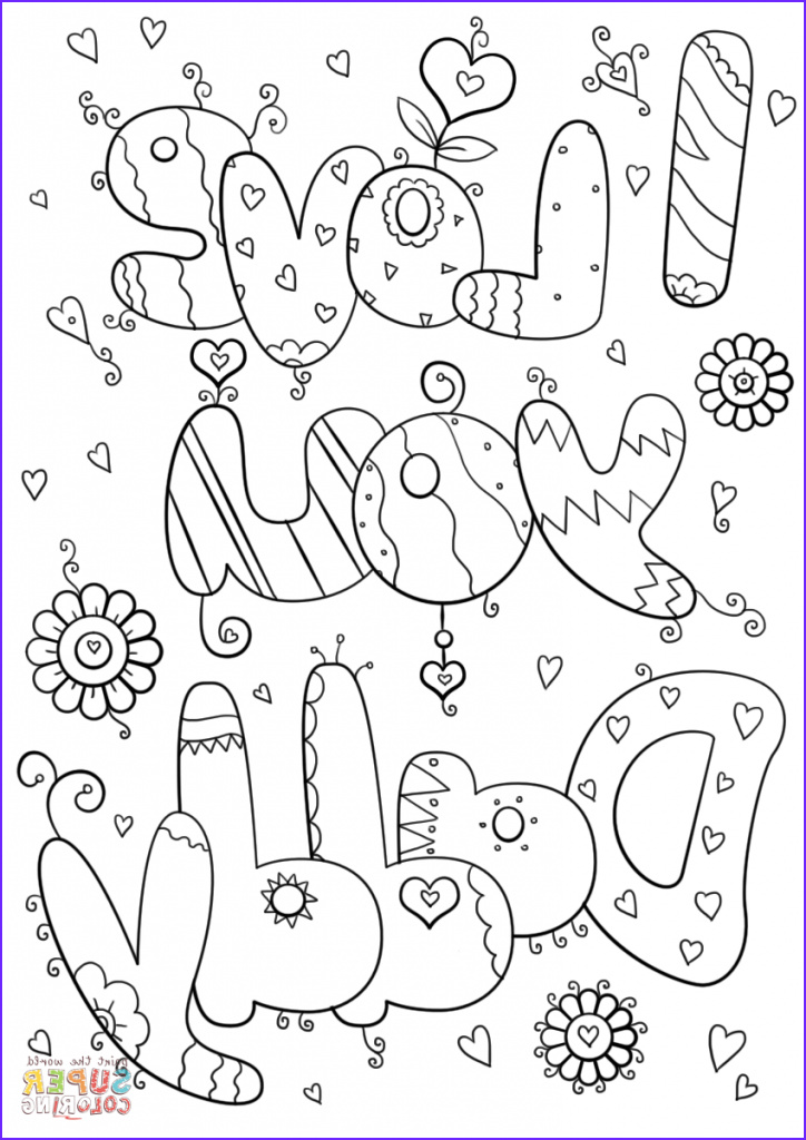 bold ideas i love my dad coloring pages you daddy printable free page