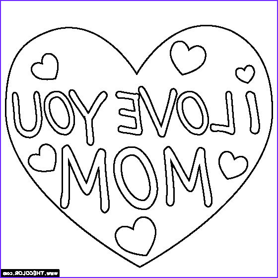 I Love My Mommy Coloring Pages Awesome Image I Love You Mom Coloring Page Mom Coloring