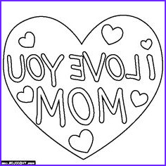 I Love My Mommy Coloring Pages Luxury Collection I Love You Mom Coloring Page Mother S Day