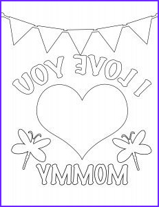I Love My Mommy Coloring Pages Luxury Photos Happy Mother S Day Coloring Page