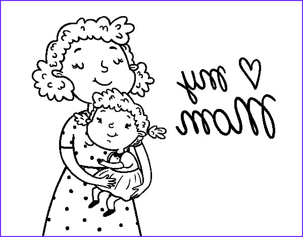 I Love My Mommy Coloring Pages New Image I Love My Mom Coloring Page Coloringcrew