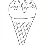 Ice Cream Cones Coloring Page Awesome Gallery Ice Cream Pencil Drawing At Getdrawings