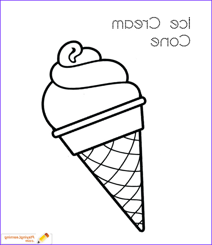 coloring sheet i=ice cream cone coloring page 05
