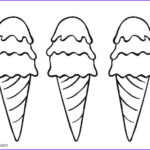 Ice Cream Cones Coloring Page Best Of Images Free Printable Ice Cream Coloring Pages For Kids