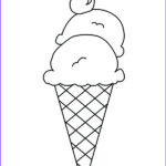 Ice Cream Cones Coloring Page Best Of Photos Icecream Cone Drawing At Getdrawings