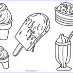 Ice Cream Cones Coloring Page Cool Photography Free Printable Ice Cream Coloring Pages For Kids