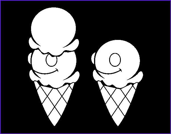 Ice Cream Cones Coloring Page Cool Photos Ice Cream Cones Coloring Page Coloringcrew