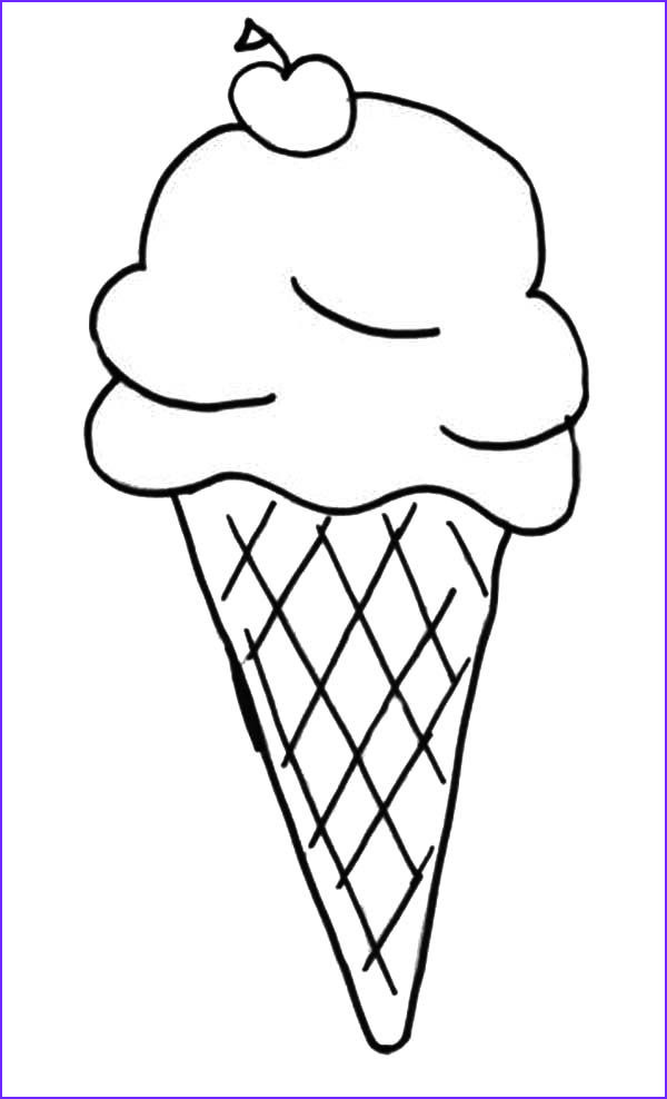 mickey mouse ice cream coloring pages