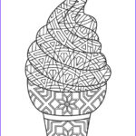 Ice Cream Cones Coloring Page Inspirational Image Free Printable Ice Cream Coloring Pages For Kids