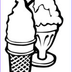 Ice Cream Cones Coloring Page Inspirational Image Two Ice Cream Cone Coloring Page Cookie