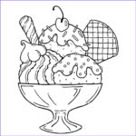 Ice Cream Cones Coloring Page Inspirational Photos Free Printable Ice Cream Coloring Pages For Kids