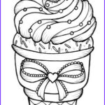 Ice Cream Cones Coloring Page Inspirational Stock Ice Cream Cones Ice And Cream On Pinterest
