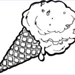 Ice Cream Cones Coloring Page New Image Free Ice Cream Cone Coloring Page Download Free Clip Art