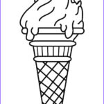 Ice Cream Cones Coloring Page New Photos Free Printable Ice Cream Coloring Pages For Kids