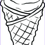 Ice Cream Cones Coloring Page New Photos Ice Cream Cone Drawing Black And White At Getdrawings