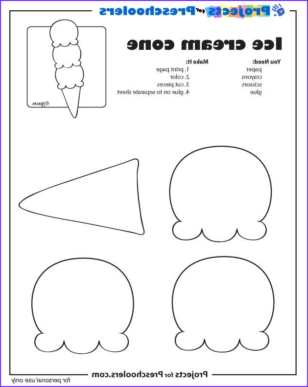 Ice Cream Cones Coloring Page Unique Photos Pinterest • the World's Catalog Of Ideas