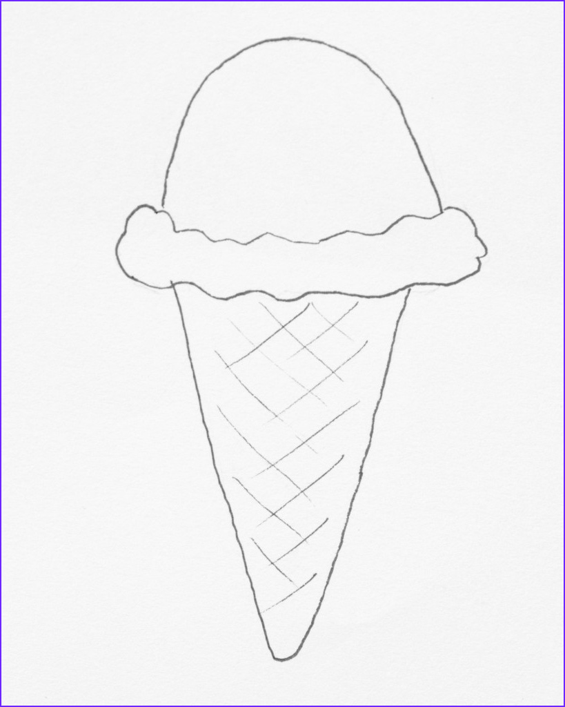 Icecream Cone Coloring Pages Beautiful Collection Freebie Friday Ice Cream Coloring Pages