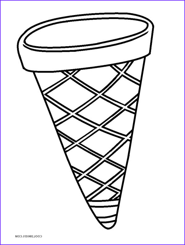 Icecream Cone Coloring Pages Beautiful Photos Free Printable Ice Cream Coloring Pages for Kids