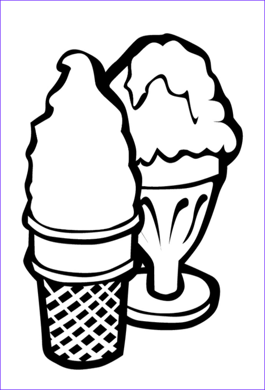 Icecream Cone Coloring Pages Beautiful Stock Free Printable Ice Cream Coloring Pages for Kids