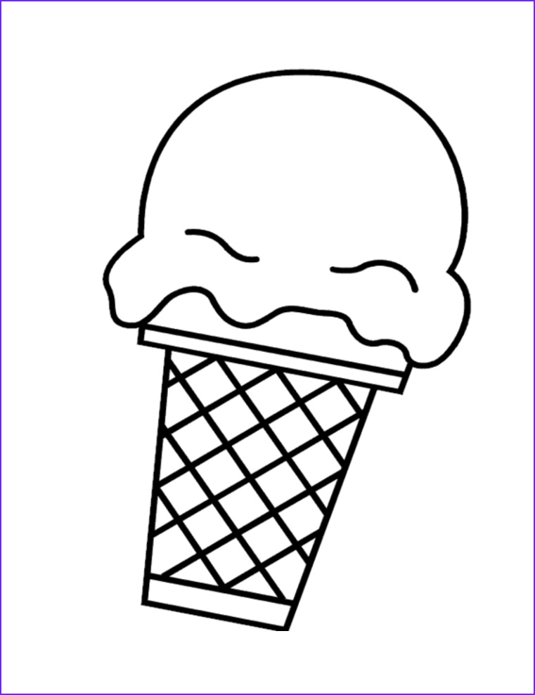 Icecream Cone Coloring Pages Best Of Image Free Printable Ice Cream Coloring Pages for Kids