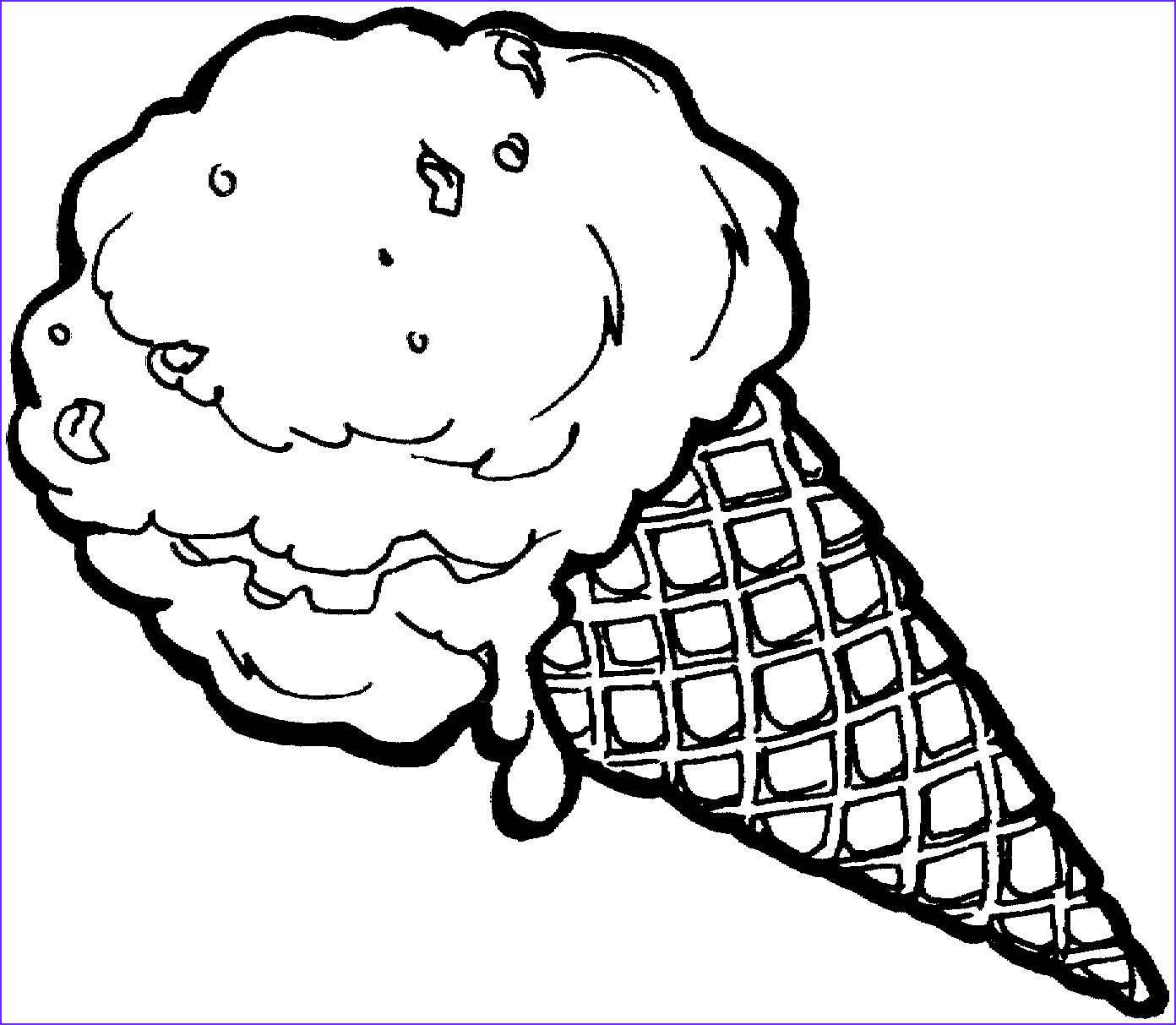 Icecream Cone Coloring Pages Elegant Image Free Printable Ice Cream Coloring Pages for Kids