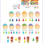 Icing Coloring Chart Unique Photos How To Create Unique Frosting Flavors And Colors Found On