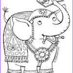Indian Elephant Coloring Pages Printable Best Of Image Dulemba Coloring Page Tuesday Indian Elephant