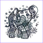 Indian Elephant Coloring Pages Printable Elegant Images 1000 Ideas About Indian Elephant Tattoos On Pinterest