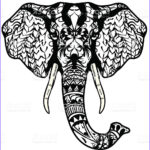 Indian Elephant Coloring Pages Printable Luxury Image Indian Elephant Drawing Color At Getdrawings