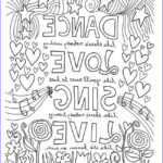Inspirational Coloring Pages Beautiful Collection 12 Inspiring Quote Coloring Pages For Adults–free
