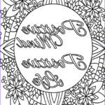 Inspirational Coloring Pages For Adults Beautiful Image Inspirational Quote Coloring Page To Print And Color Adult