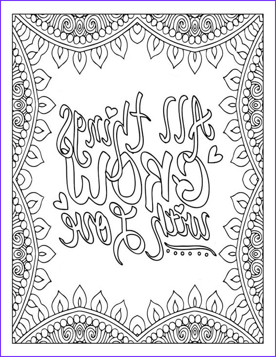 Inspirational Quotes Coloring Pages Cool Photos Motivational Word Art Coloring Page Inspirational Love