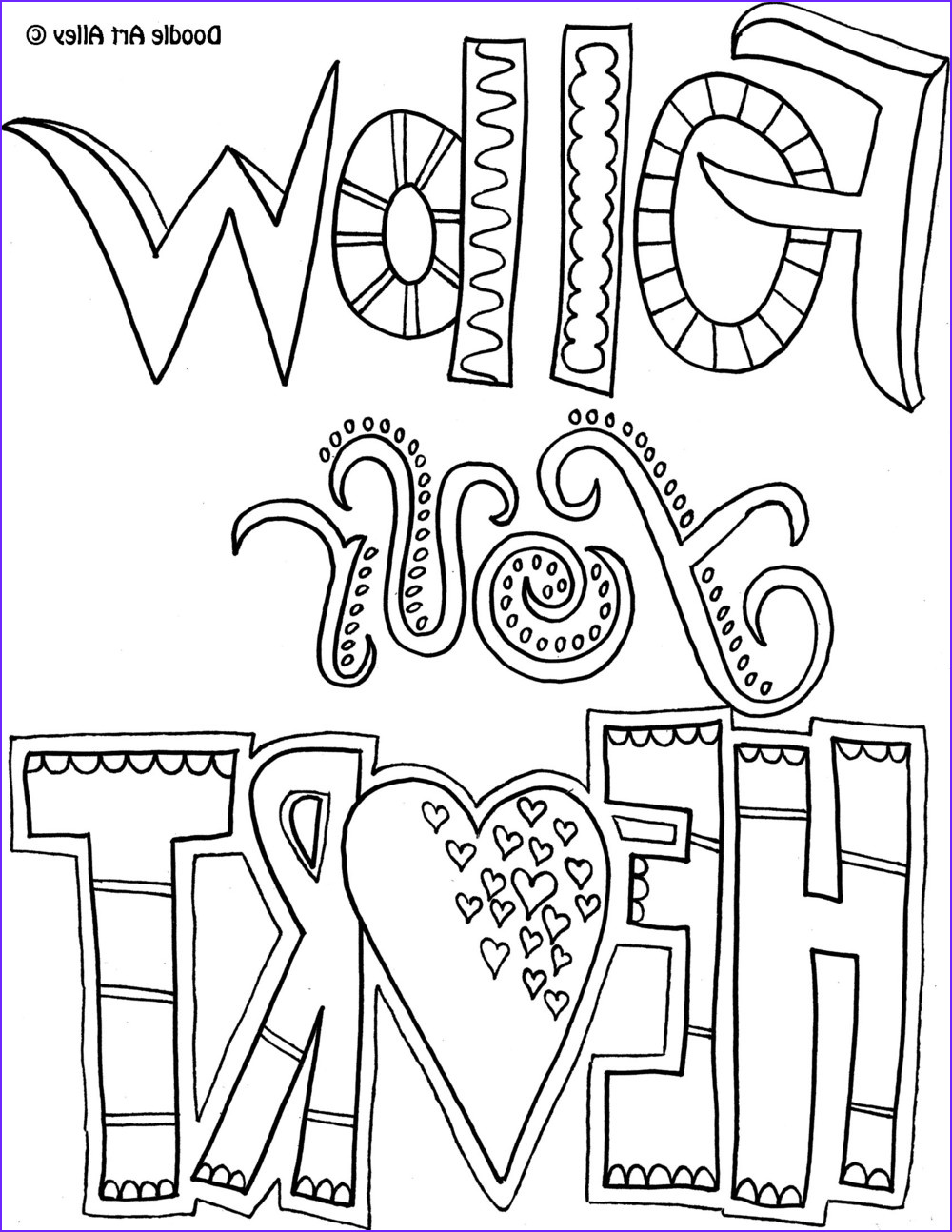 Inspirational Quotes Coloring Pages Luxury Photos Be E A Coloring Book Enthusiast with Doodle Art Alley